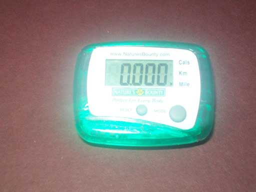 Free Pedometer Health Sample