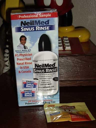 Free Sinus Relief Sample
