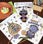 FREE Oriental Trading Halloween Recipes, Coloring Pages, & Pumpkin Stencils