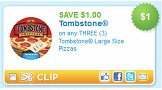 Save $1/3 any large Tombstone Pizzas Coupon