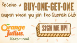 Free Orange Julius Buy One Get One (BOGO) Free Coupon