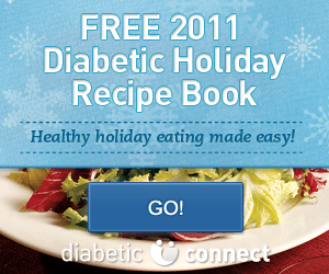 Free 2011 Diabetic Holiday Recipe Cookbook