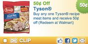 3 Rare Tyson Chicken Coupons