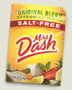 FREE Mrs. Dash Sample (1st 20,000!)