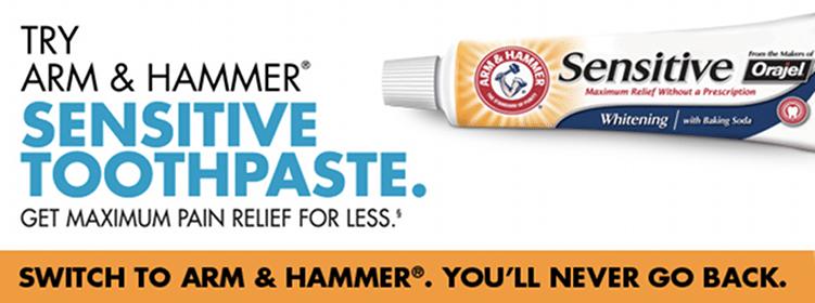 Arm & Hammer Sensitive Toothpaste