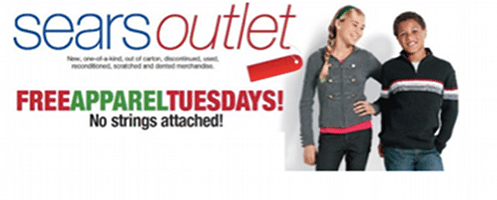 Kid's Clothing Item for Shop Your Way Rewards Members at Sears Outlet Stores (Today Only)