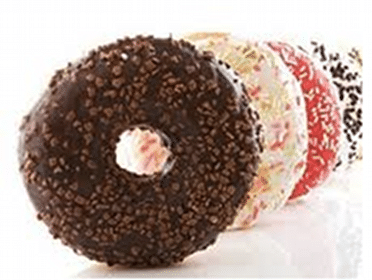 Donut at Thorntons Stores