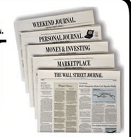 39 Week Wall Street Journal Subscription