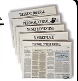 39 Week Wall Street Journal Subscription