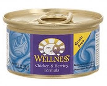 Can of Wellness Signature Select Cat Food (2.8 oz.) at Petco