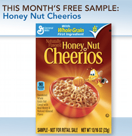 Honey Nut Cheerios Medley Crunch Sample (1st 10,000 Box Tops for Education Members!)