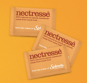 Sample of Splenda Nectresse No Calorie Sweetener