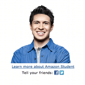 FREE Amazon Prime for College Students