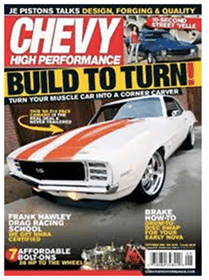 Subscription to Chevy High Performance