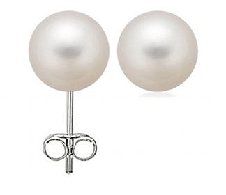 8 MM Faux Pearl Stud Earrings