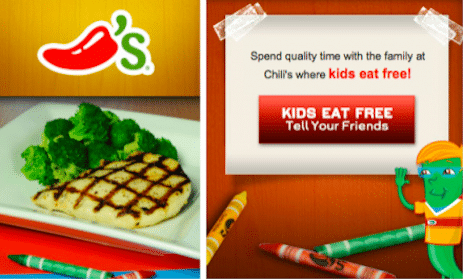 Kid's Meals at Chili's