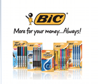 $1/1 ANY BIC Stationery Product Coupon