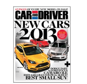 Subscription to Car and Driver