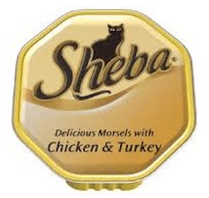Sheba Cat Food Sample