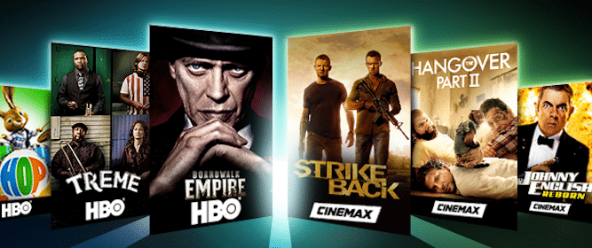 HBO & Cinemax for DirecTV, Dish Network & Select Other Subscribers