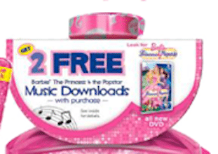 4 FREE Song Downloads from Barbie & Phineas and Ferb