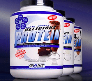FREE Giant Sports Delicious Protein Sample