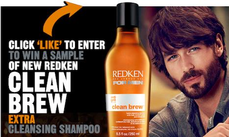 Win FREE Redken Clean Brew Shampoo (38,000 Winners!)