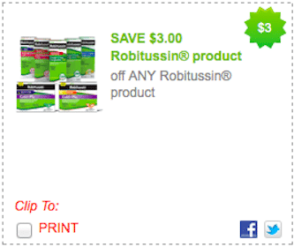 *HOT* $3/1 Any Robitussin Product Coupon