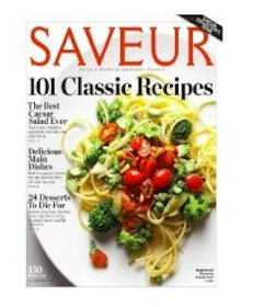 1 Year Subscription to Saveur Magazine