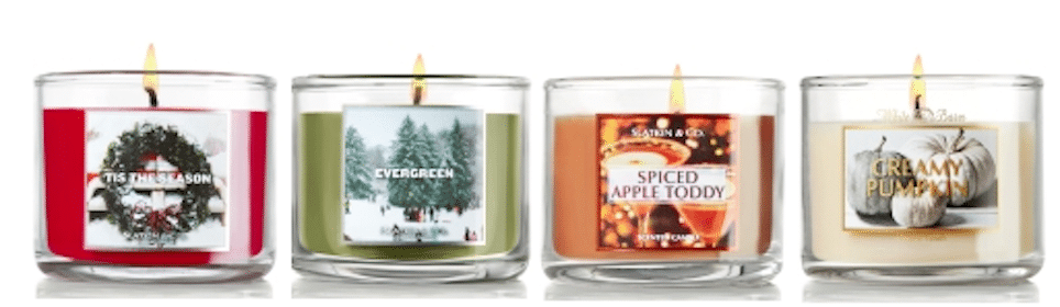 Bath & Body Works Coupon: FREE Mini Candle with $10 Purchase In-Store or Online