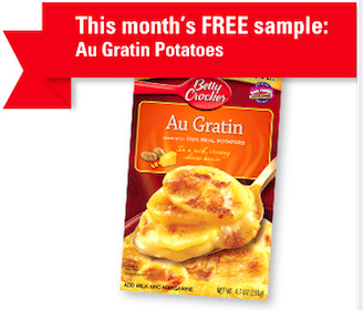 Au Gratin Potatoes for Betty Crocker Members