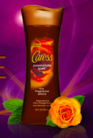 FREE Caress Passionate Spell Body Wash Sample