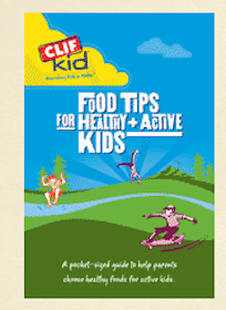 FREE Clif Kid Food Tips Guide
