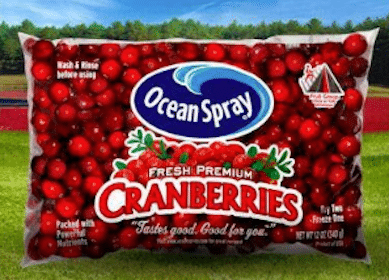 Save $1/1 Ocean Spray Fresh Cranberries Coupon