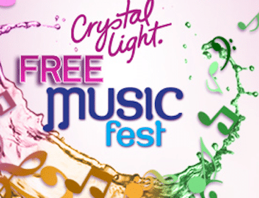 FREE Song Downloads from Crystal Light