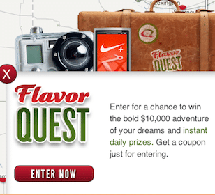 Win Quiznos Gift Cards, Running Shoes, Bikes + More