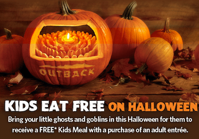 FREE Kids Meal on Halloween at Outback Steakhouse
