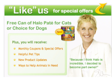 FREE Can of Halo Pate for Cats or FREE Can of Spot's Choice for Dogs