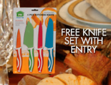 FREE Knife Set at RC Willey Stores