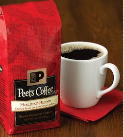 FREE Peet's holiday blend coffee sample
