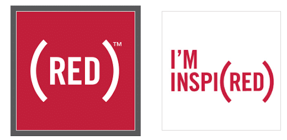 (RED) Stickers