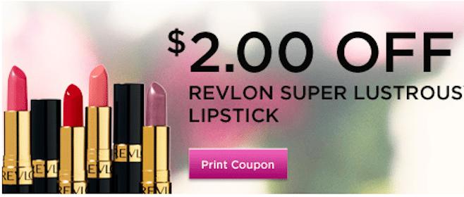 *High Value* $2/1 Revlon Super Lustrous Lipstick Rite Aid Coupon (1st 10,000!)