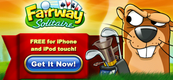FREE Fairway Solitaire iPhone/iPod/iPad Touch Game Download