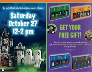 FREE Lego Monster City Mini Pack at Toys R Us