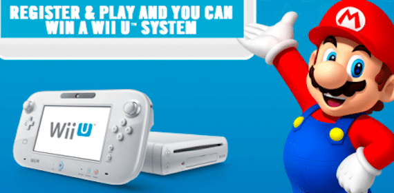 Win a New Wii U System from Burger King (490 Winners!)