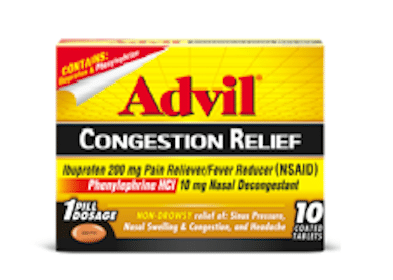 FREE Advil Congestion Relief for Smiley360 Members