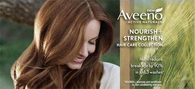 FREE Aveeno Nourish+ Strengthen Sample