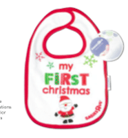 Bib at Babies R Us