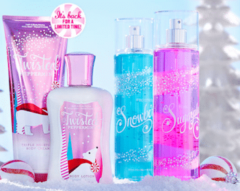 Product (Up to a $13 Value!) with Any $10 Purchase at Bath & Body Works (Coupon)