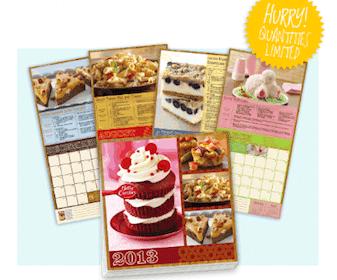 FREE Betty Crocker 2013 Calendar (Betty Crocker Members)